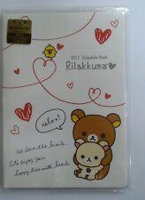 JAPAN RILAKKUMA 2013 18X13 CM DATEBOOK SCHEDULE BOOK 576932 FOR COLLECT