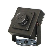Encubierta espía CCTV CMOS Cámara de tipo de botón con Lente Fijo De 6.3mm y 420 líneas de TV