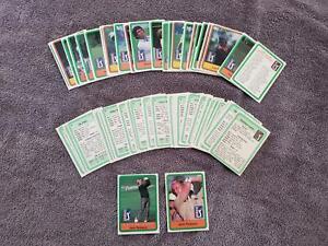 "1981 PGA Gold COMPLETE 66-Card Set w/Jack Nicklaus ""Rookie Card"""