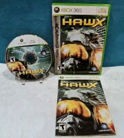 Tom Clancy's H.A.W.X (Microsoft Xbox 360, 2009) with Manual - Tested & Working