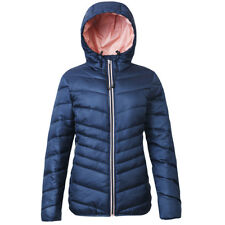 Women's Hooded Lightweight Water-Resistant Padded Puffer Jacket