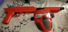 Valken Gotcha Paintball Shotgun - 50 Cal - Red with mask