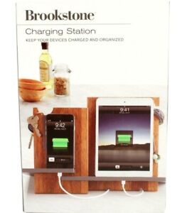 Brookstone Charging Station Keeps Devices Charged and Organized NEW