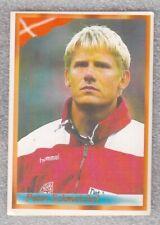 Football sticker PETER SCHMEICHEL Denmark FIFA WC France 1998 98 Bonart Yug
