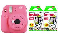 Fujifilm FUJI Instax Mini 9 flamingo pink rosa Sofortbildkamera + 40 Bilder