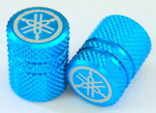 YAMAHA TYRE VALVE DUST CAP BLUE ANODIZED GENUINE RI,6,3. FZR YZF MT09 07 TMAX