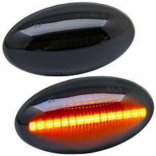2 REPETITEUR LED MINI R50 R53 3 5 PORTES 2001-2006 CABRIOLET R52 2004-2008 NOIR