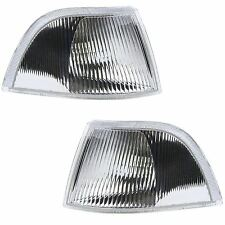 VOLVO V40 EXCLUDING T4/TURBO 1996-1999 FRONT INDICATORS CLEAR 1 PAIR O/S & N/S