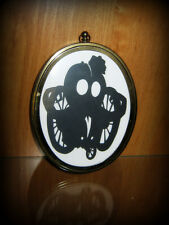 """Doktor A """"Tin Nose"""" Framed Hand-Cut Paper Cut Out ONE-OF-A-KIND! DOK-A RARE!"""