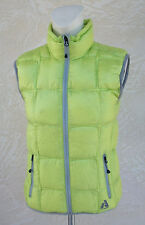 Eddie Bauer Women's First Ascent Downlight Vest Jacket NWT Citrus Yellow