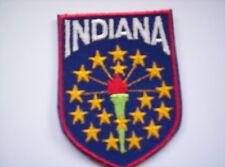 Flaggen Aufnäher Indiana