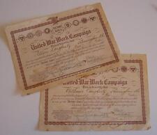 WWI-United War Work Campaign-Victory Girls 1918-Sisters-Birmingham Alabama