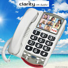 CLARITY P300 76593 CORDED LOUD AMPLIFIED BIG BUTTON PHOTO PICTURE PHONE NEW