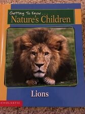 """Getting To Know Nature's Children Lions And Pandas: HARD BOUND: """"NEW"""""""