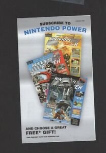 Nintendo Gamecube Advert Promo Power Ad INSERT ONLY Authentic