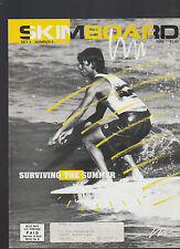 Skimboard Magazine 1988 Surviving the Summer Championships