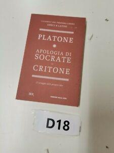 Platone  Apologia di Socrate  di  Avezzù BUR