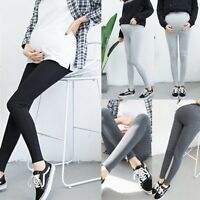 Spring Autumn Comfortable Pregnant Women's Maternity Adjustable Long Leggings