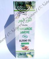 Huile d'Amande Amère BIO 100% Pure & Naturelle 120ml Bitter Almond Oil