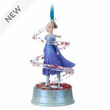 DISNEY FROZEN 2 Elsa Singing Christmas Decoration Hanging Ornament 11.5cm *NEW*