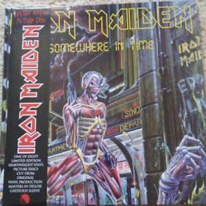 Iron Maiden - Somewhere in Time Picture Vinyl 2013 incl. OBI 180 Gramm NEU  NEW
