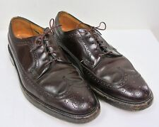 Vtg Florsheim Imperial Shell Cordovan 93605 Brown Kenmoor Longwings-Men's 11.5 D