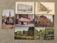 Vintage England Postcards London Liverpool Kenilworth Cambridge Bull Hotel