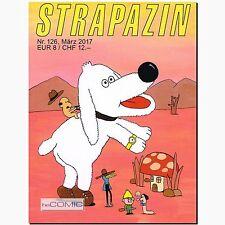Strapazin 126 COMIC Illustration Zeitschrift Underground Kreativität Avangard