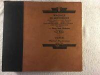 WAGNER DIE MEISTERSINGER ACT III INTERIOR SACHS WORKSHOP 78 RPM RCA RED SEAL