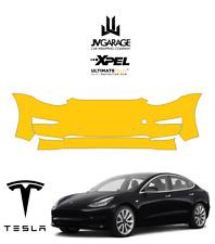 XPEL Ultimate Plus Front Bumper Tesla Model 3 Paint Protection PreCut Clear Bra