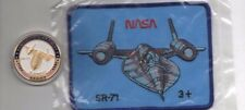 Original USAF NASA SR-71 Patch and Coin Set - 2 pcs.