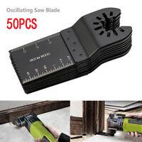 50 Pc Oscillating Multi Tool Saw Blade For Fein Multimaster BOSCH Dremel Makita