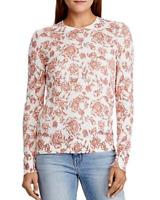 Lauren Ralph Lauren Floral Crewneck Sweater MSRP $110 Size L # 5C 1473/L NEW