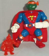 1993 Playmates TMNT Sewer Heroes Super Mike Teenage Mutant Ninja Turtles Figure