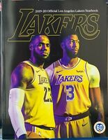 2019 2020 LA LOS ANGELES LAKERS YEARBOOK NBA BASKETBALL PROGRAM 208 PAGES CHAMPS