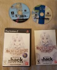""".hack Infection"" PS2 Game (Anime DVD Included) *RARE OOP*"