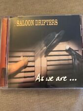 The Saloon Drifters - As We Are CD Signed Autographed