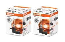 2x OSRAM Halogenlampe HB3 ORIGINAL LINE 12V 60W P20d 9005