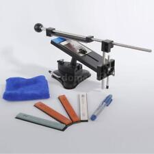 New Upgraded Fix-angle Knife Sharpener Kitchen Sharpening System & 4 Stones Kit