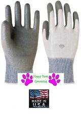 Animal Handling GLOVES Made w/ DYNEEMA®(Better than Kevlar)PET DOG CAT BIRD*L-XL