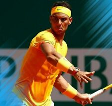 Nike Rafael Nadal AeroReact Rafa Tennis Polo Shirt | Men's L Large | 888206-845