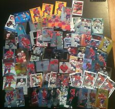 Saku Koivu 76 Card Lot Inserts And Parallel Lot 1990's Montreal Canadiens