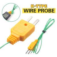 K-Type Thermocouple Wire for Digital Thermometer Temperature Sensor Probe TC1
