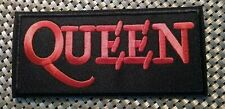 Queen (band) Freddie Mercury Embroidered Logo Patch Iron-On Sew-On fast Us ship