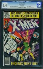 X MEN # 137 US Marvel 1980 John Byrne Giant Phoenix cela CGC 9.4 Presque comme neuf +