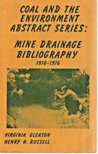 Coal And The Environment Abstract Series-Mine Drainage 1910-76-EPA-PA Resources