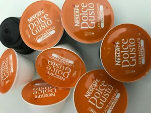 Nescafe Dolce Gusto Pods Caramel Latte milk and coffee pods 10,30,50,80,100