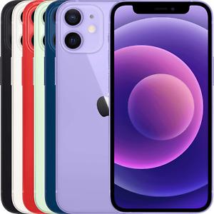Apple iPhone 12 mini 64GB 128GB 256GB Black White Red Blue Unlocked Smartphone