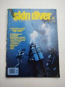 Vintage SKIN DIVER MAGAZINE, May 1977 Single Issue Magazine.