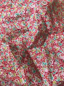 Liberty Chiffon Silk 100% 1 Meter dress fabric